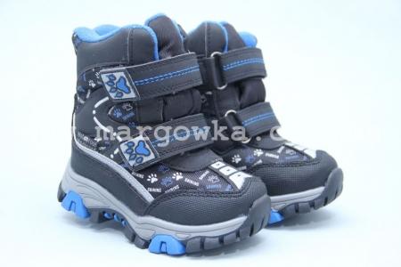Ботинки Tom.M 3844A для мальчика синие (A)