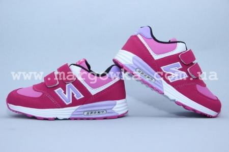Кроссовки KLF 6481-7A для девочки розовые (G)