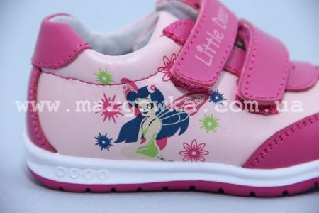 Кроссовки Little Deer (B&G) LD170-202 для девочки розовые (A)