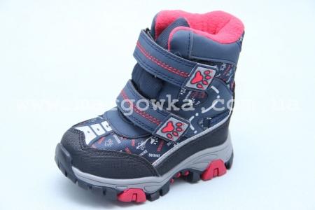 Ботинки Tom.M 3844C для мальчика синие (A)