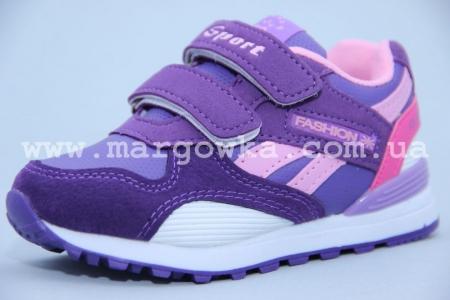 Кроссовки Bessky QX880-6 для девочки фиолетовые (A)