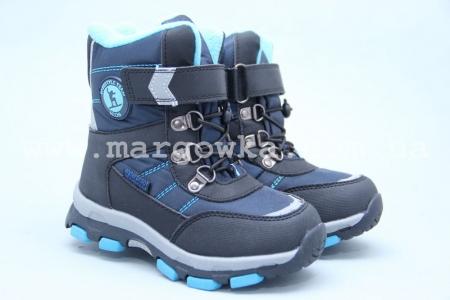 Ботинки Tom.M 3670B для мальчика синие (A)