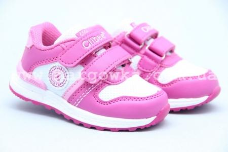 Кроссовки Clibee F-709-4 для девочки розовые (A)