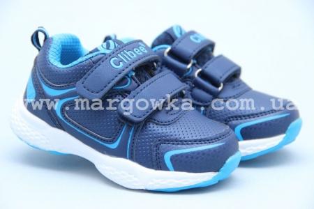 Кроссовки Clibee F703 для мальчика синие (A)