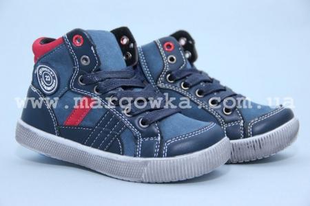 Ботинки С.Луч M282-1 для мальчика синие (G)