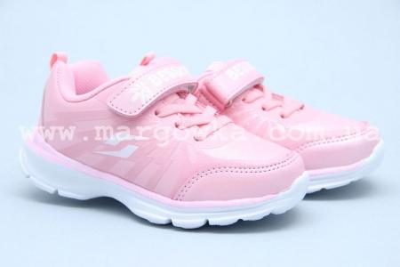 Кроссовки Bessky B8217-4 для девочки розовые (A)