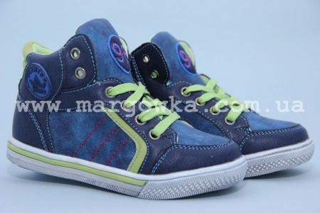 Ботинки Солнце PT7202-D для мальчика синие (G)
