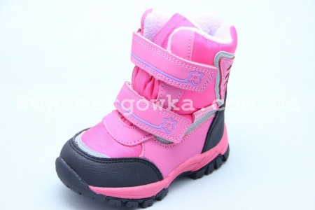 Ботинки Tom.M 3659F для девочки розовые (A)