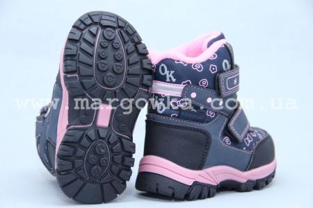 Ботинки Tom.M 3658B для девочки синие (A)