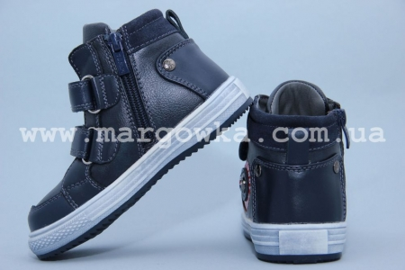 Ботинки Tom.M C-T15-91-A для мальчика синие (G)