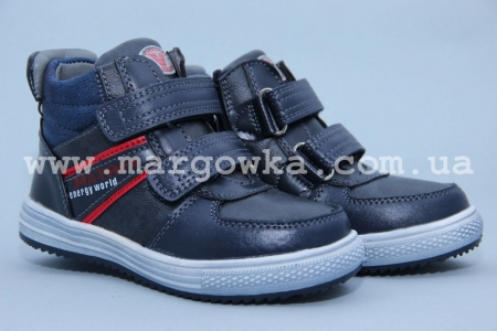 Ботинки Tom.M C-T15-90-A для мальчика синие (A)