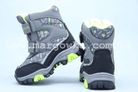 Ботинки Tom.M 3844B для мальчика серые (A)