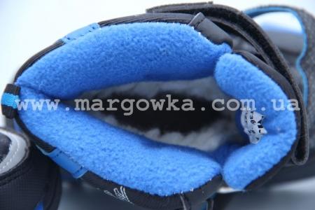 Ботинки Tom.M 3656A для мальчика синие (A)