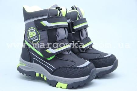 Ботинки Tom.M 3861B для мальчика чёрные (A)