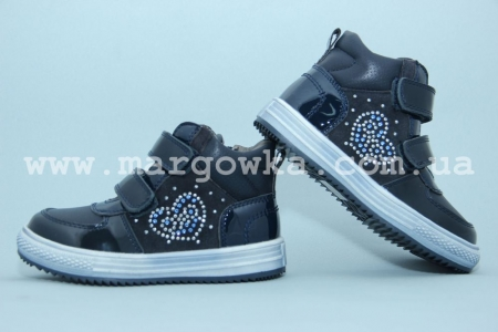 Ботинки Tom.M C-T17-78-A для девочки синие (A)