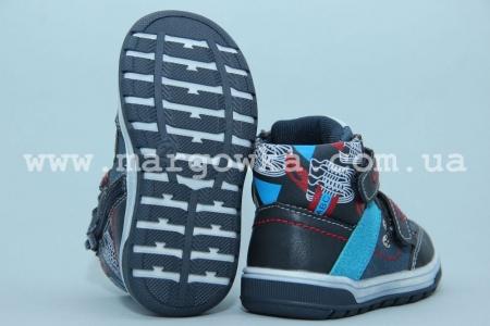 Ботинки С.Луч M1175-1 для мальчика синие (G)