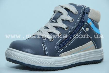 Ботинки С.Луч M286-1 для мальчика синие (G)