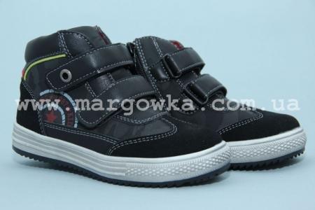 Ботинки С.Луч M5293-2 для мальчика чёрные (A)
