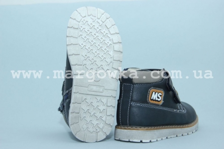 Ботинки С.Луч M5287-1 для мальчика синие (A)