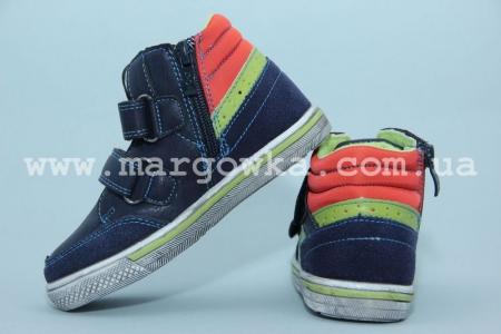 Ботинки Солнце PT7203-B для мальчика синие (G)