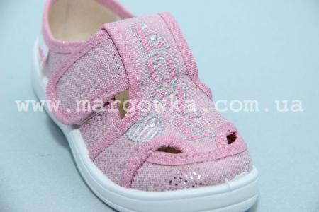 Тапочки Waldi 279-673 для девочки розовые (A)