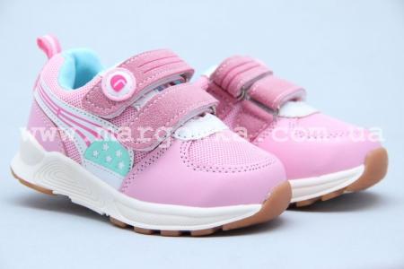 Кроссовки Tom.M 5326B для девочки розовые