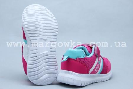 Кроссовки Tom.M 5562V для девочки малиновые