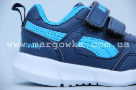 Кроссовки Солнце W805-1 для мальчика синие (G)