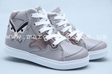 Ботинки BIKI 3274B для девочки серые