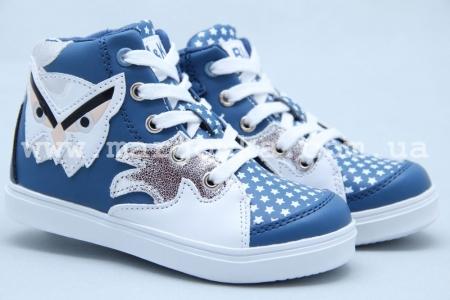 Ботинки BIKI 3274C для девочки синие