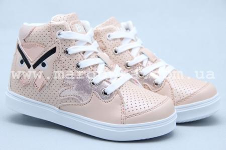 Ботинки BIKI 3274H для девочки бежевые