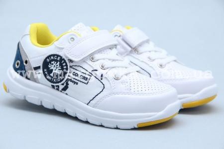 Кроссовки BIKI 3279A для мальчика белые