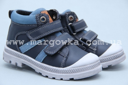 Ботинки BIKI 3960C для мальчика синие