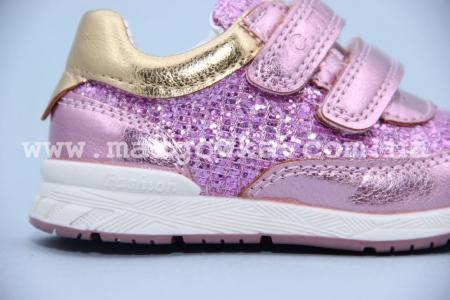 Кроссовки С.Луч G7815-2 для девочки розовые (G)