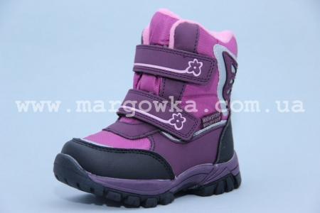 Ботинки Tom.M 1560A для девочки фиолетовые (G)