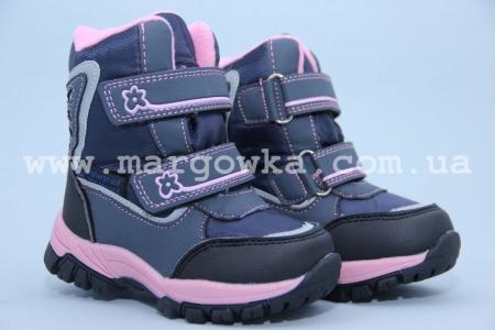 Ботинки Tom.M 1560B для девочки синие (G)