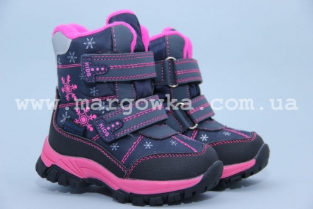 Ботинки Tom.M 1559B для девочки синие (G)