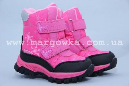 Ботинки Tom.M 1559C для девочки розовые (G)