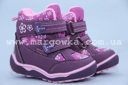 Ботинки Tom.M 1571D для девочки фиолетовые (G)