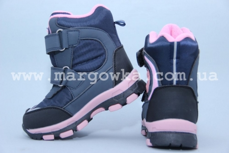 Ботинки Tom.M 1600B  для девочки синие (G)