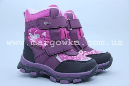 Ботинки Tom.M 1595A для девочки фиолетовые (G)