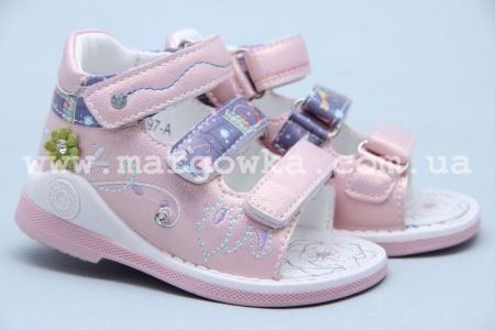 Босоножки Tom.M 5597A для девочки розовые