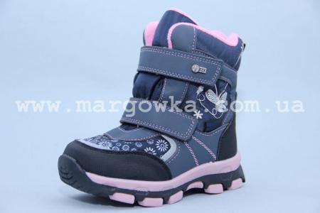 Ботинки Tom.M 1595B для девочки синие (G)
