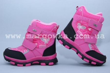 Ботинки Tom.M 1595C для девочки розовые (G)