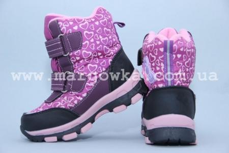 Ботинки Tom.M 1596A для девочки фиолетовые (G)