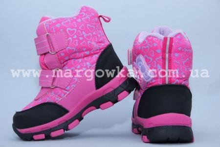 Ботинки Tom.M 1596C для девочки розовые (G)