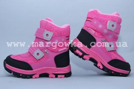 Ботинки Tom.M 1609C для девочки розовые (G)