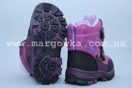 Ботинки Tom.M 1610A для девочки фиолетовые (G)