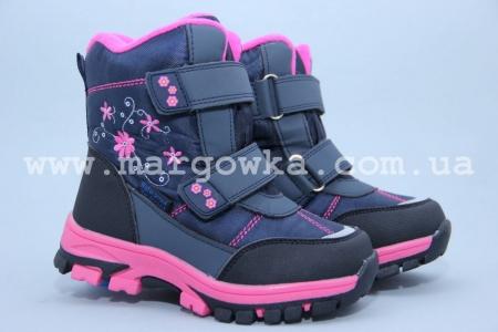 Ботинки Tom.M 1610B для девочки синие (G)