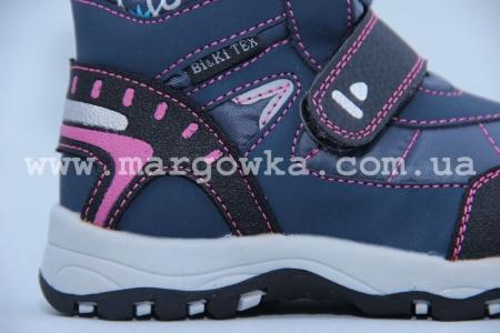 Ботинки BIKI 2036B для девочки синие (G)